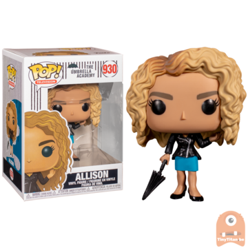 POP! Television Allison Hargreeves #930 The Umbrella Academy