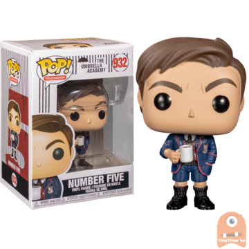 POP! Television Number Five #932 The Umbrella Academy
