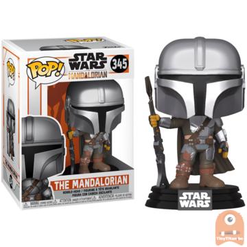 POP! Star Wars The mandalorian New pose #345 The mandalorian