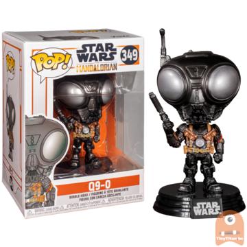 POP! Star Wars Q9-0 #349 The mandalorian