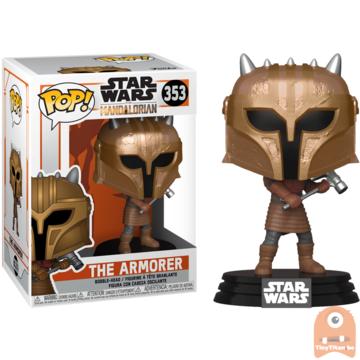 POP! Star Wars The Armorer #353 The mandalorian