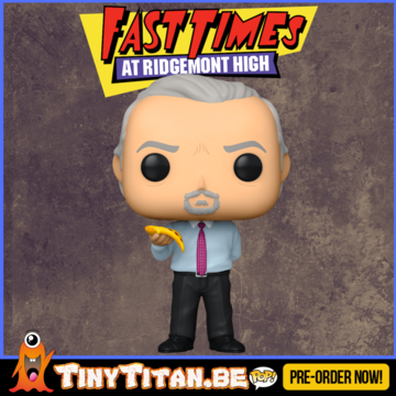 Funko POP! Mr. hand w/ Pizza - Fast Times at Ridgemont High Pre-Order