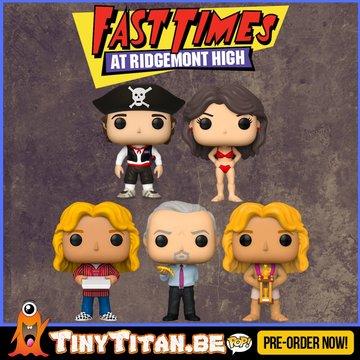 Funko POP! Set of 5 Fast Times at Ridgemont High Pre-Order
