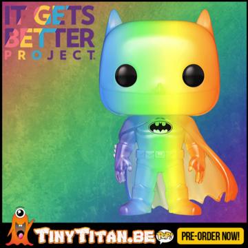 Funko POP! Batman Rainbow - Pride 2020 Pre-Order