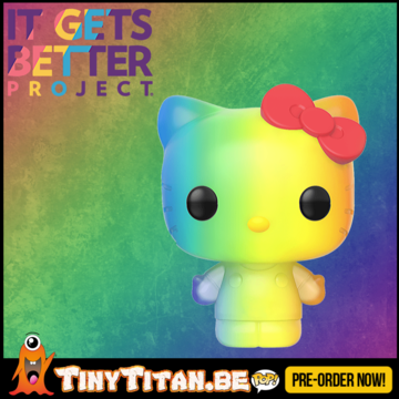 Funko POP! Hello Kitty Rainbow - Pride 2020 Pre-Order