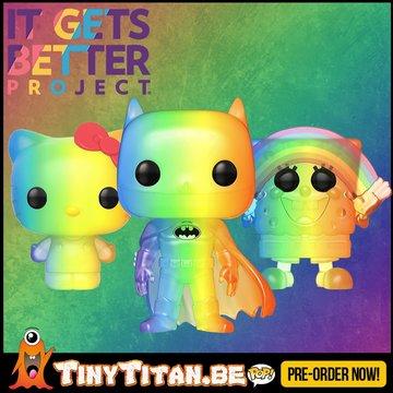 Funko POP! Set of 3 Rainbow - Pride 2020 Pre-Order