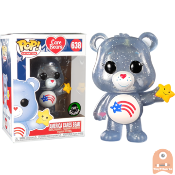 POP! Animation America Cares Bear #638 Care Bears Excl.