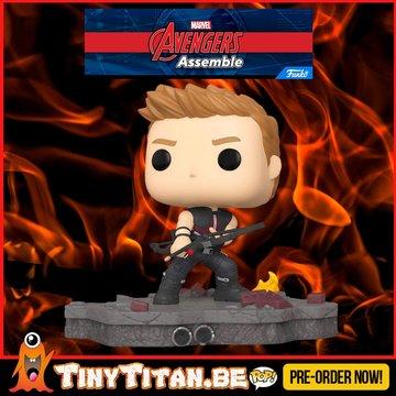 Funko POP! Deluxe, Marvel: Avengers Assemble Series - Hawkeye Exclusive PRE-ORDER
