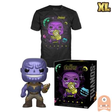 Funko POP! & TEE BOX Thanos Metallic & Gauntlet Exclusive - X-Large