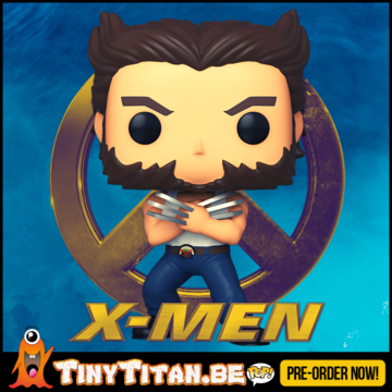 Funko POP! Wolverine in Tanktop - X-Men 2000 - 20TH Anniversary Pre-Order