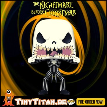 Funko POP! Jack Scare Face - Nightmare before Christmas Pre-Order