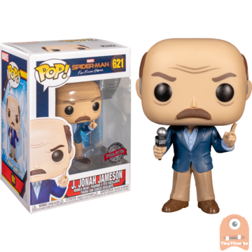 POP! Marvel J. Jonah Jameson #621 Spider-Man Far From Home Excl.
