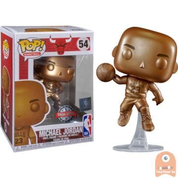POP! Sports Michael Jordan bronzed - Chicago Bulls #54 NBA Exclusive
