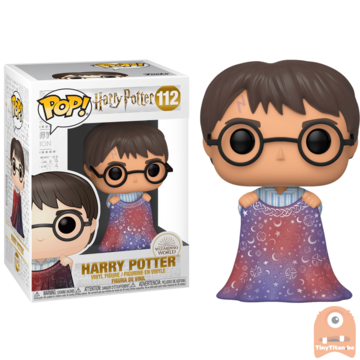 POP! Harry Potter Harry w/ Invisibillity Cloak #112
