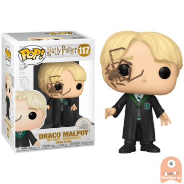 POP! Harry Potter Draco Malfoy w/ Whip Spider #117