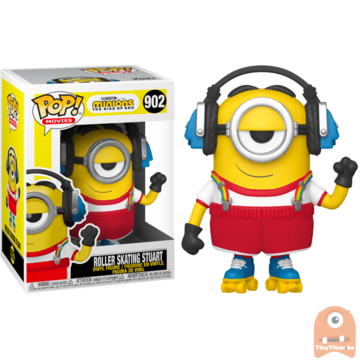 POP! Movies Roller Skating Stuart #902 Minions The Rise of Gru