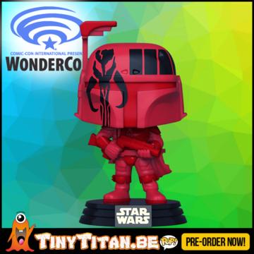 Funko POP! Boba Fett Burg - WonderCon Excl. Star Wars Pre-Order