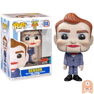 POP! Disney Benson #618 Toy Story - NYCC Excl.