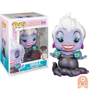 POP! Disney Ursula Diamond Glitter #658 The Little Mermaid Excl.