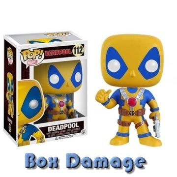 Marvel Deadpool (Thumbs Up) (Yellow) #112 Deadpool (small box dmg)
