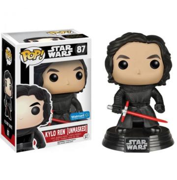 POP! Star Wars Kylo Ren (Unmasked) #87