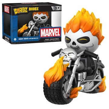 Dorbz Ridez Ghost Rider With Motorcycle #27 Marvel