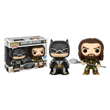 Heroes Batman and Aquaman (2-Pack) Justice League