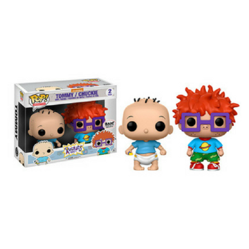 Animation Tommy and Chuckie (2-Pack) Rugrats