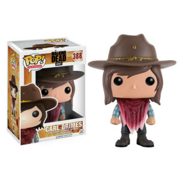 POP! Television Carl Grimes (Poncho) #388 The Walking Dead