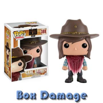 Television Carl Grimes (Poncho) #388 The Walking Dead Box DMG