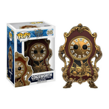 Disney Cogsworth (Live Action) #245 Beauty and the Beast