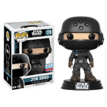 POP! Star Wars Jyn Erso (Emperial Disguise with Helmet) #178 NYCC