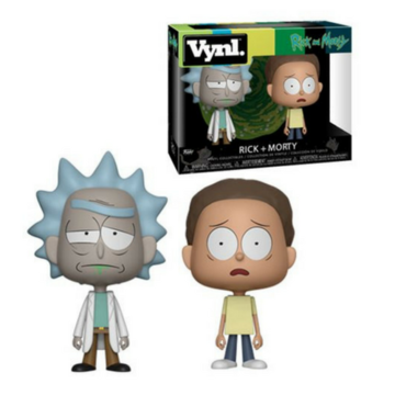 Vynl. Rick + Morty