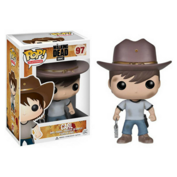 POP! television Carl Grimes #97 The Walking Dead - Vaulted