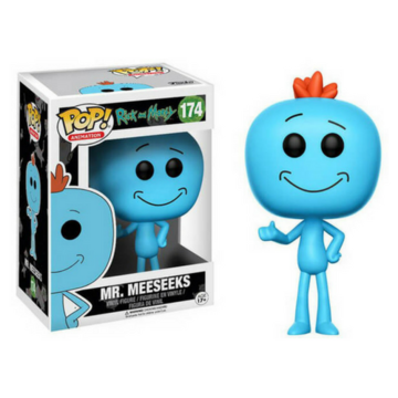 Animation Mr. Meeseeks #174 Rick and Morty