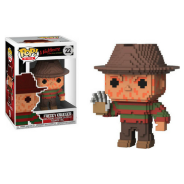 8-Bit Freddy Krueger #22 A Nightmare on Elmstreet