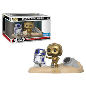 POP! Star Wars Escape Pod Landing #222 Movie Moments
