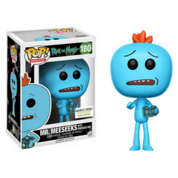 Animation Mr. Meeseeks with Meeseeks Box #180 Rick and Morty
