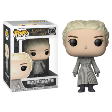 Game of Thrones Daenerys Targaryen - White Coat #59
