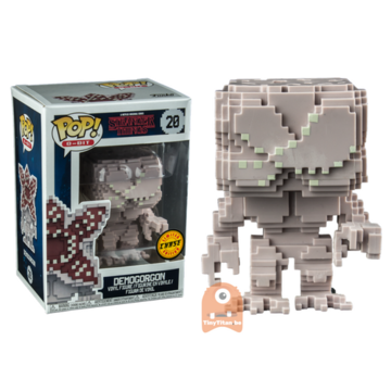 8-Bit Demogorgon - Closed Mouth #20 Stranger Things - CHASE