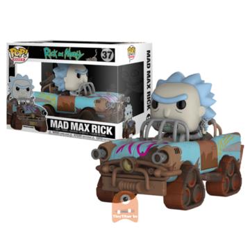 Animation Mad Max Rick #37 Rick and Morty