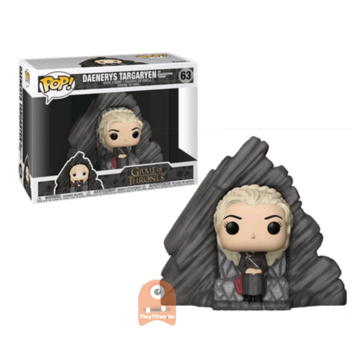 Game of Thrones Daenerys Targaryen - on Dragonstone Throne #63