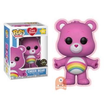 Animation Cheer Bear - GITD #351 CHASE
