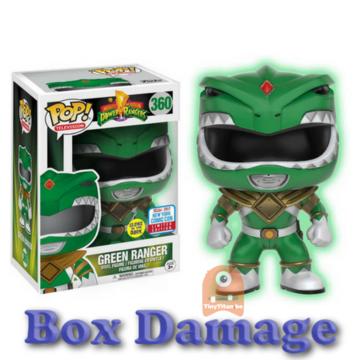 Television Green Ranger - GITD #360 Might Morphin Power Rangers - DMG