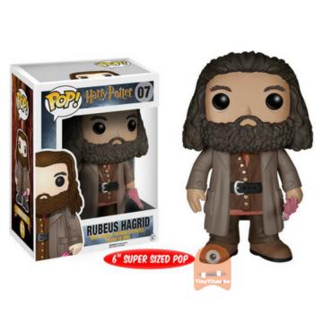 POP! Harry Potter Rubeus Hagrid #07 White Box
