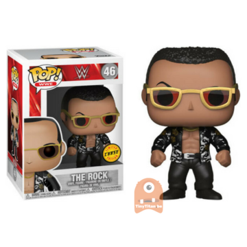 POP! Sports The Rock - Black Jacket #46 WWE - CHASE