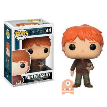 POP! Harry Potter Ron Weasley /w Scabbers #44