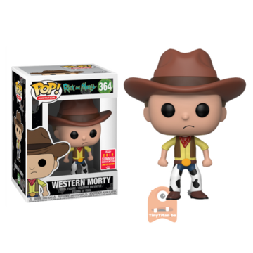 POP! Animation Western Morty #364 Rick and Morty - SDCC