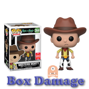 POP! Animation Western Morty #364 Rick and Morty - SDCC - DMG