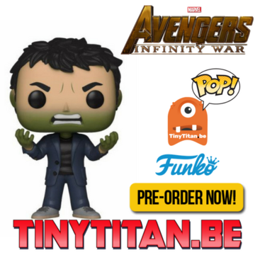 Funko POP! Bruce Banner Angry - Avengers Infinity War Wave 2 PRE-ORDER